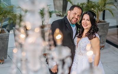 Boda en las alturas: Fernando Calderón y María Eugenia Grijalba