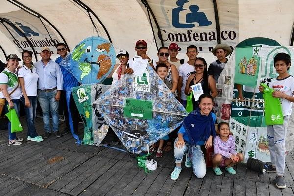 Festival del viento y las cometas de Comfenalco Tolima, éxito y diversión entre las familias ibaguereñas.