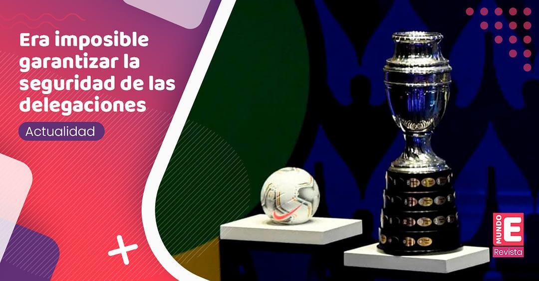 Colombia se queda sin Copa América