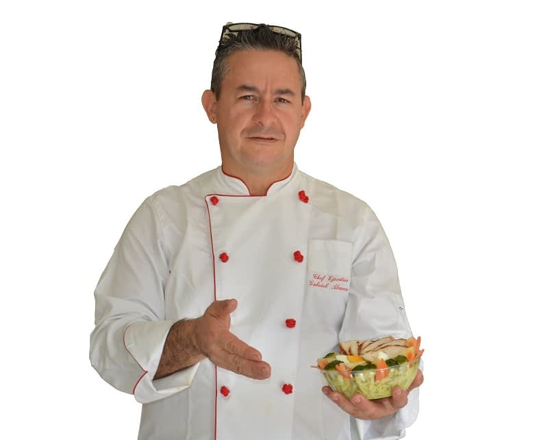 Chef Gabriel Álvarez