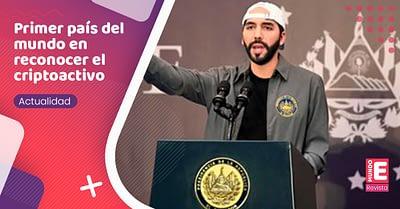 El Salvador, primer país del mundo en legalizar la criptomoneda