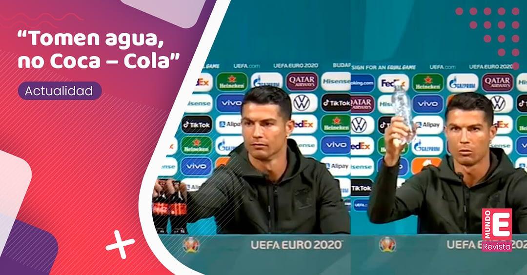 La frase de Cristiano Ronaldo que golpeó las finanzas a Coca -Cola