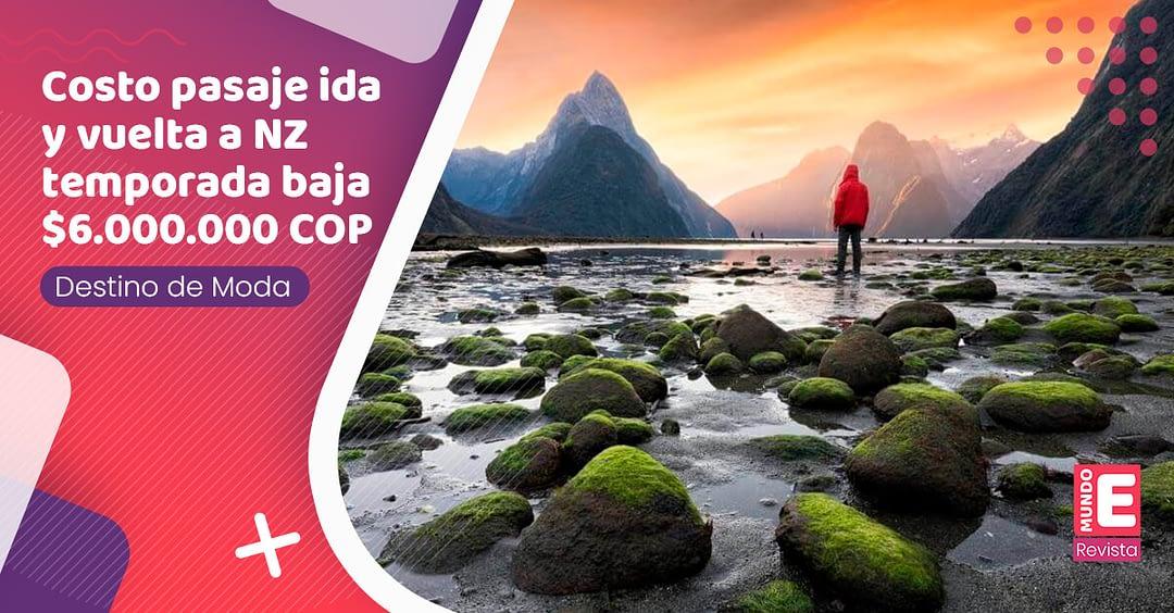 Nueva Zelanda, un país de aventura y biodiversidad