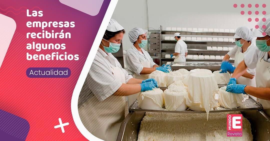 Colombia Productiva, busca transformar empresas de alimentos en el país.