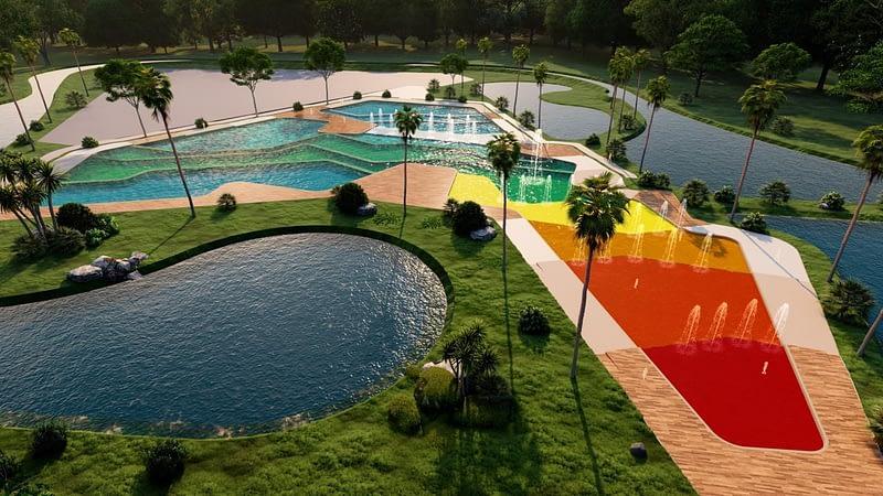 Caike Parque tematico vista aerea