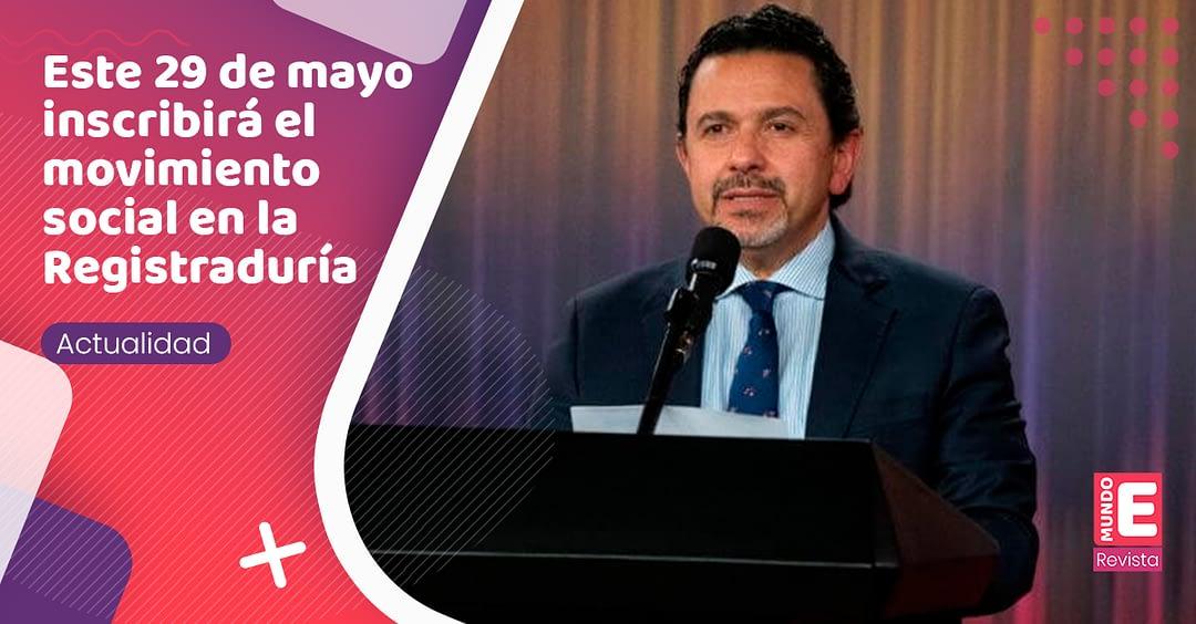 Ex comisionado de paz, Miguel Ceballos, pretende llegar a la Presidencia de Colombia
