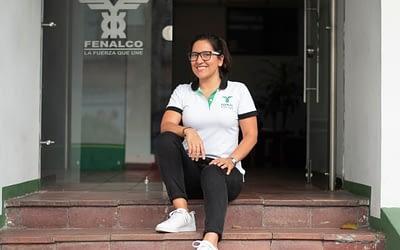 Alba Lucía García «Empoderamiento femenino en la dirección de Fenalco Tolima»